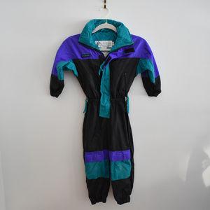 Columbia Snowsuit Vintage Size Youth XS
